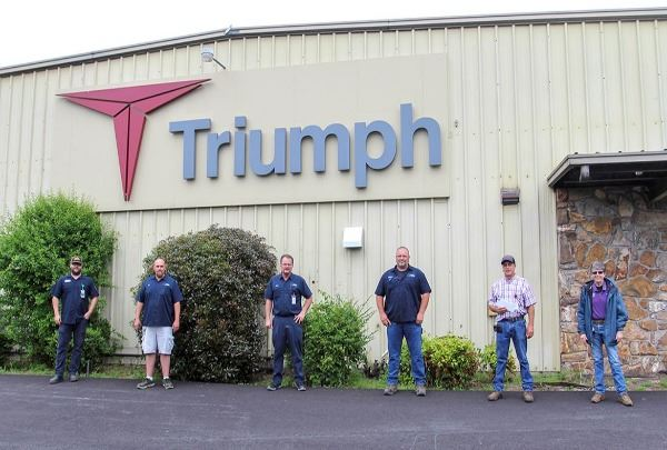 5-4-20 Triumph Group donates masks to City
