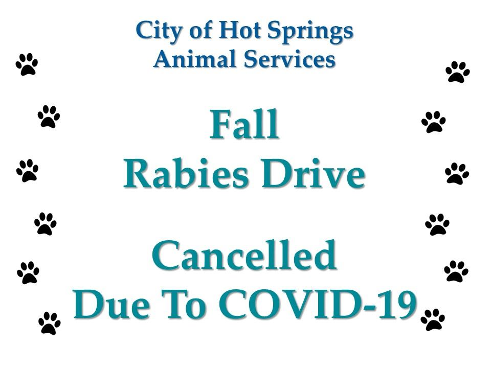 Fall_Rabies_Drive_Cancelled