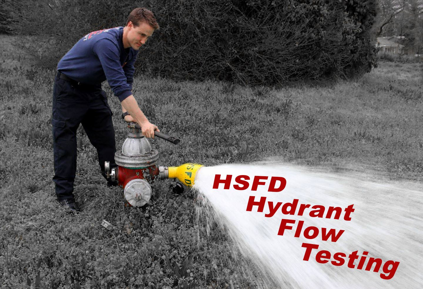 Hydrant Flow Testing graphic
