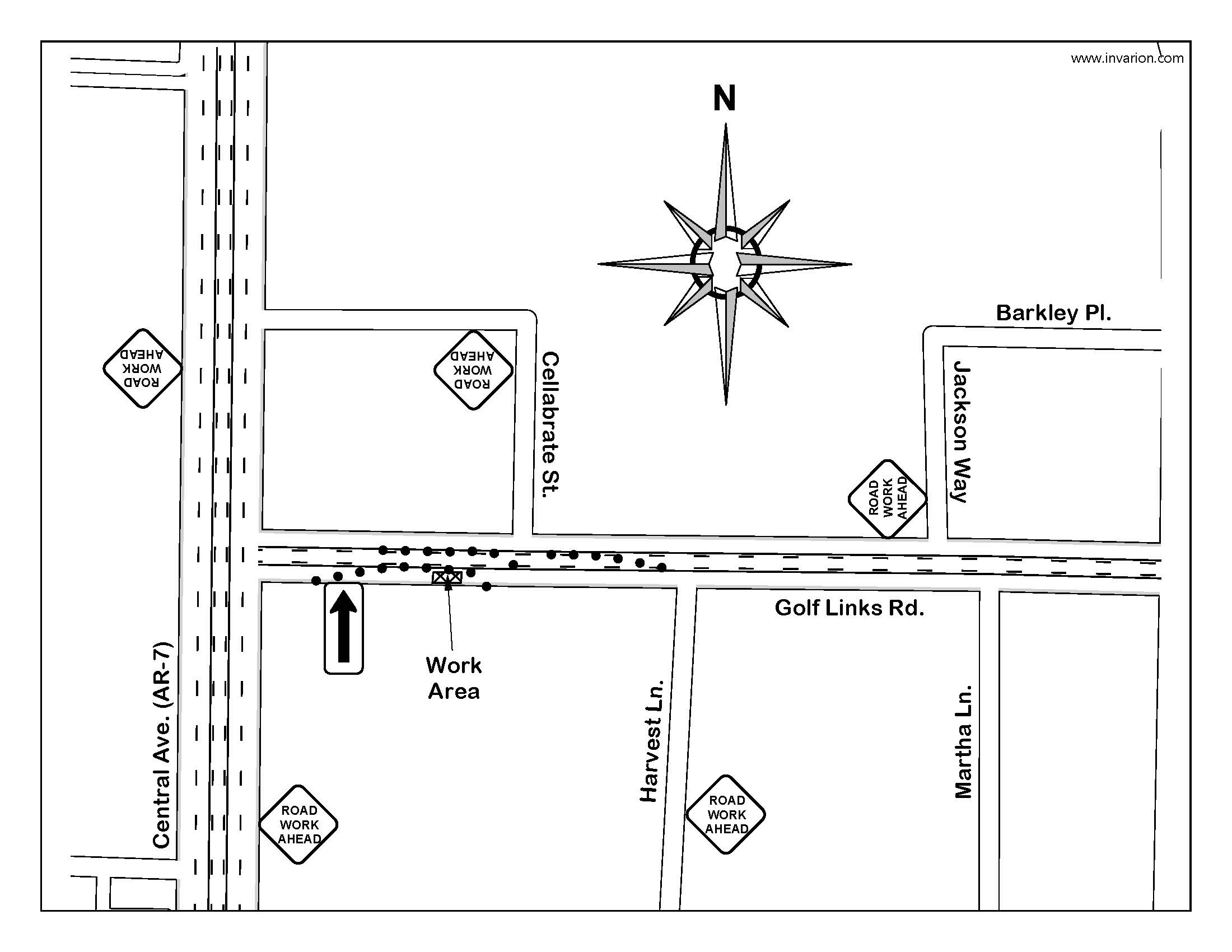 Centerpoint Energy-127 Golf Links Rd Traffic Control Plan