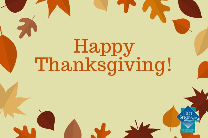 The City of Hot Springs offices will be closed Thursday, Nov. 26 and Friday, Nov. 27.