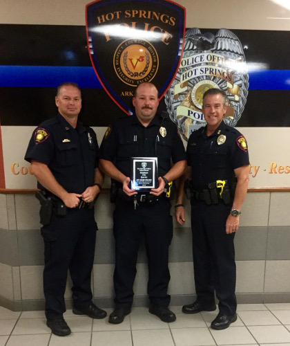 Wilson Officer of the Quarter