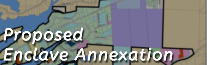 Enclave Annexation graphic banner