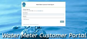 Water Meter Customer Portal