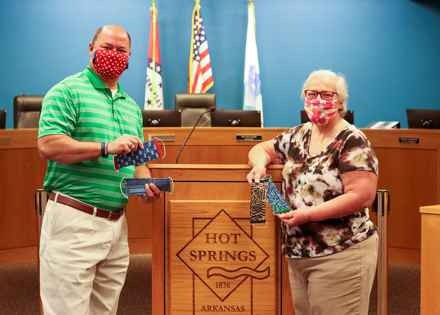 Mask donation - Garland County Extension - sized