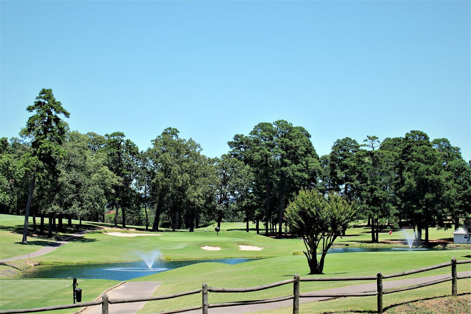 country club golf course