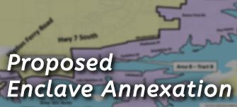 click for information about enclave annexation